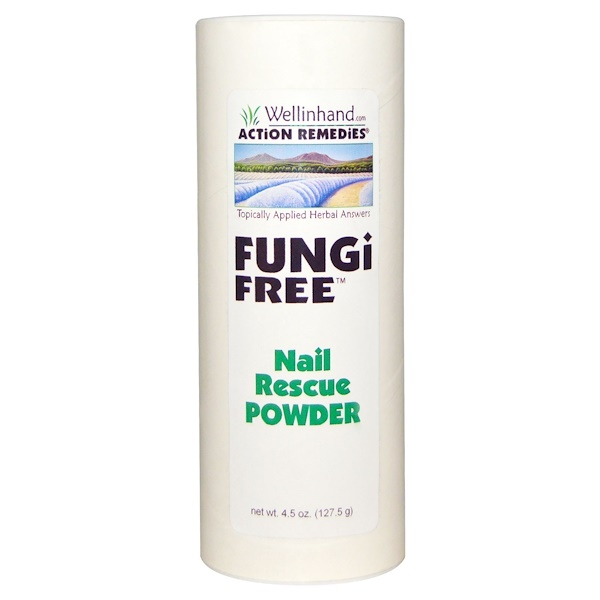 Wellinhand Action Remedies, Fungi Free, 4.5 oz (127.5 g) (Discontinued Item)