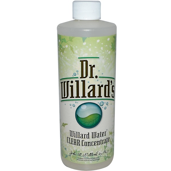 Willard, Water Clear Concentrate, 16 oz (0.473 l)