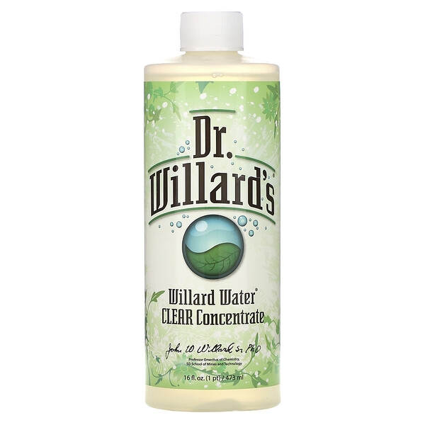 Willard Water,  Clear Concentrate, 16 oz (473 ml)