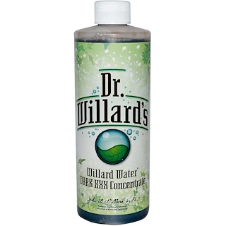 Willard, Willard Water, Dark XXX Concentrate, 16 oz (0.473 l)