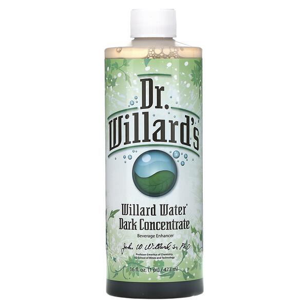 Willard Water, Dark Concentrate, 16 fl oz (473 ml)