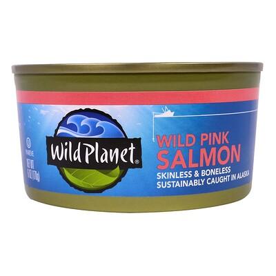 Купить Wild Planet Дикий аляскинский лосось, 6 унций (170 г)
