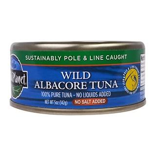 Wild Planet, Wild Albacore Tuna, No Salt Added, 5 oz (142 g)