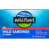 Wild Planet, Wild Sardines In Water, No Salt Added, 4.4 oz (125 g)
