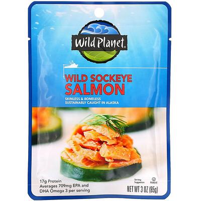Купить Wild Planet Wild Sockeye Salmon, 3 oz (85 g)