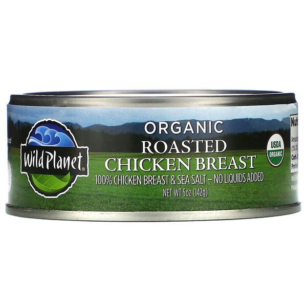 Wild Planet, Organic Roasted Chicken Breast, 5 oz (142 g)