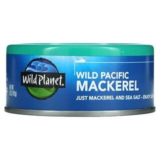 Wild Planet, Wild Pacific Mackerel, 5 oz (142 g)