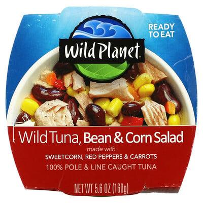 Купить Wild Planet Wild Tuna Bean & Corn Salad, 5.6 oz (160 g)