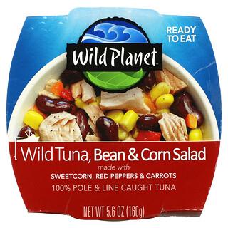 Wild Planet, Wild Tuna, Bean & Corn Salad, 5.6 oz (160 g)