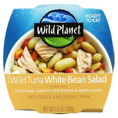 Купить Wild Planet Wild Tuna White Bean Salad, 5.6 oz (160 g)