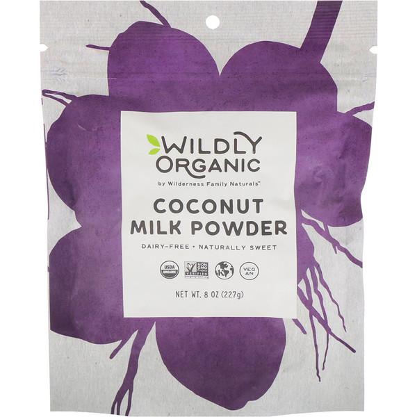 Wildly Organic, Coconut Milk Powder, 8 oz (227 g)