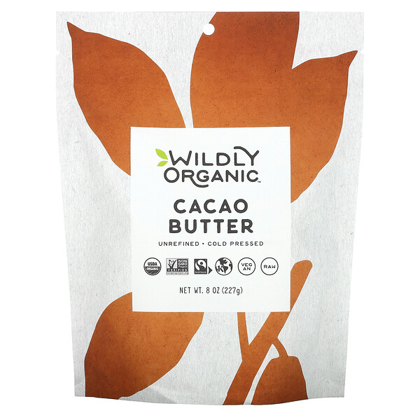 Wildly Organic, Cacao Butter, 8 oz (227 g)