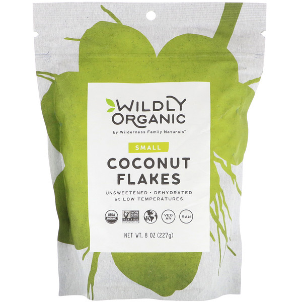 Wildly Organic, Coconut Flakes, Small, 8 oz (227 g)