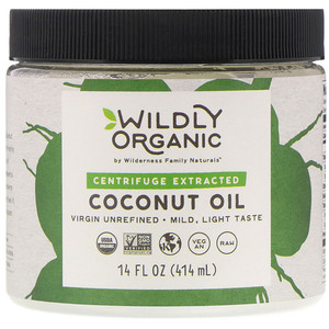 Wildly Organic, Centrifuge Extracted Coconut Oil, 14 fl oz (414 ml) отзывы