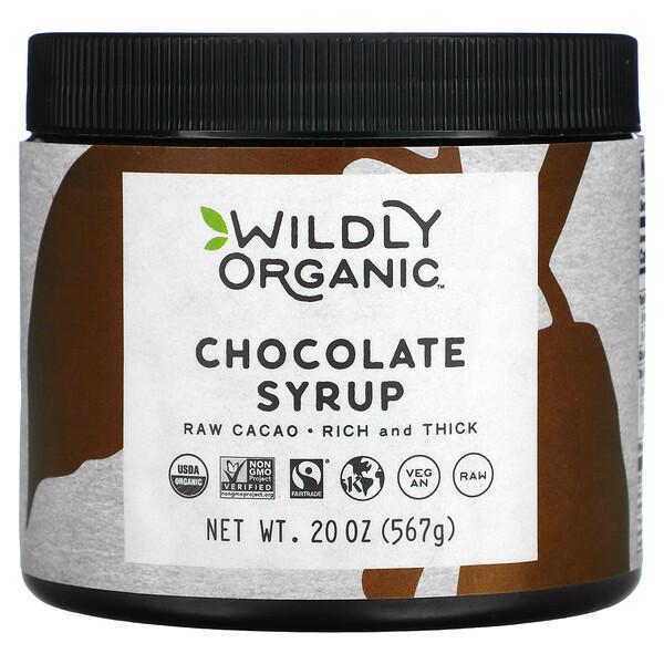 Wildly Organic, Chocolate Syrup, 20 oz (567 g)