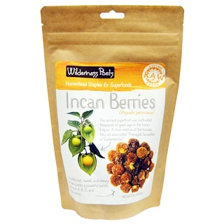 Wilderness Poets, Raw Living Foods, Incan Berries, 8 oz (226.8 g)