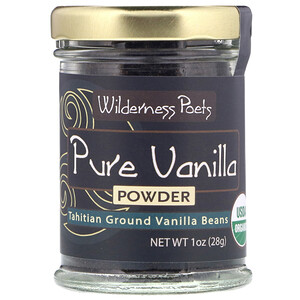 Вилдернес Поэтс, Pure Vanilla Powder, Tahitian Ground Vanilla Beans, 1 oz (28 g) отзывы покупателей