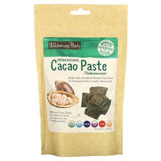 Wilderness Poets, Arriba Nacional Cacao Paste, 8 oz (226.8 g)