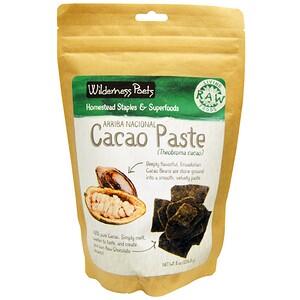 Вилдернес Поэтс, Arriba Nacional Cacao Paste, 8 oz (226.8 g) отзывы покупателей