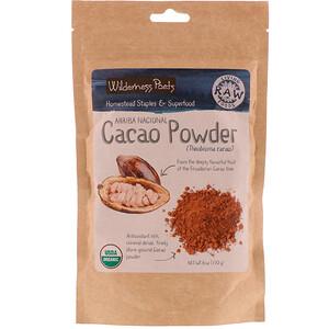 Вилдернес Поэтс, Arriba Nacional Cacao Powder, 6 oz (170 g) отзывы покупателей