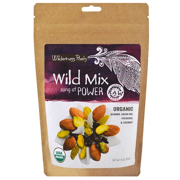 Wilderness Poets, Organic Wild Mix, Song of Power, 8 oz (226.8 g) (Discontinued Item)