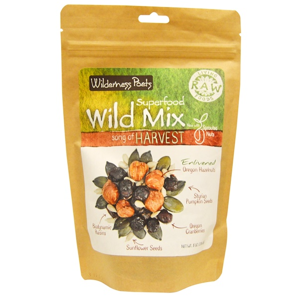 Wilderness Poets, Superfood Wild Mix, Song of Harvest, 8 oz (226.8 g)