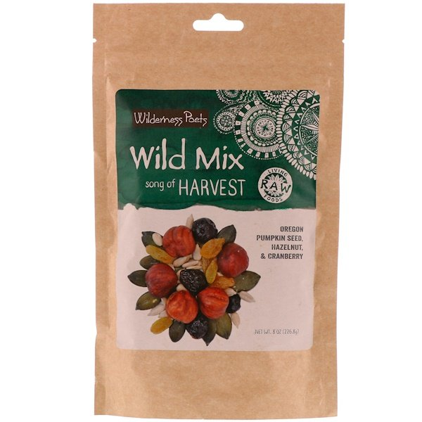 Wilderness Poets, Organic Wild Mix, Song of Harvest, 8 oz (226.8 g)