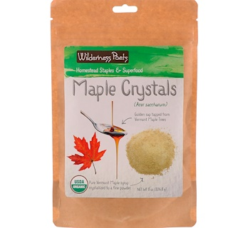 Wilderness Poets, Maple Crystals, 8 oz (226.8 g)