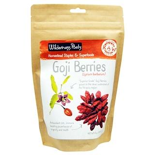 Wilderness Poets, Raw Living Foods, Goji Berries, 8 oz (226.8 g)