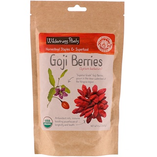 Wilderness Poets, Goji Berries, 8 oz (226.8 g)