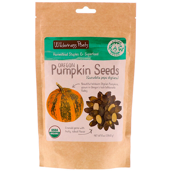 Wilderness Poets, Oregon Pumpkin Seeds, 8 oz (226.8 g)