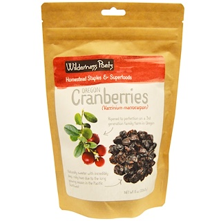 Wilderness Poets, Cranberries, 8 oz (226.8 g)