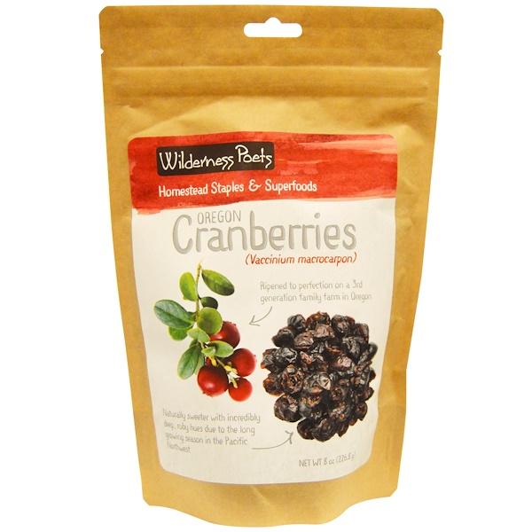 Wilderness Poets, Cranberries, 8 oz (226.8 g)