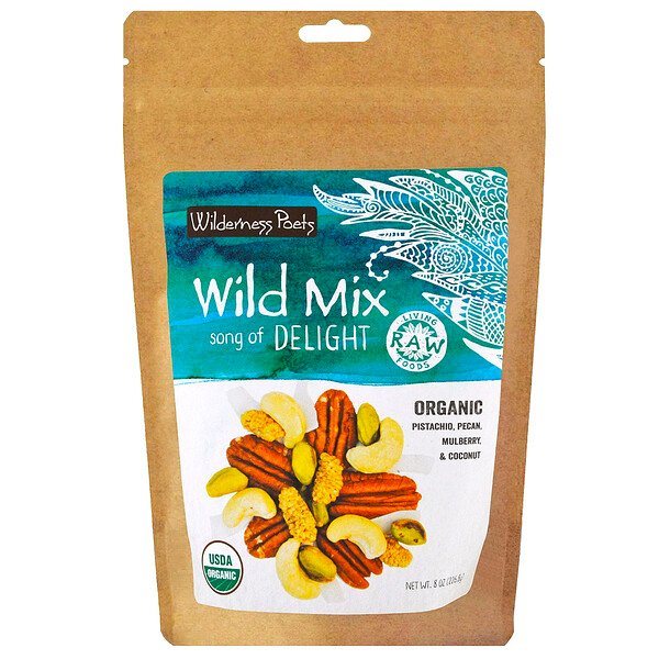 Organic Wild Mix, Song of Delight, 8 oz (226.8 g)