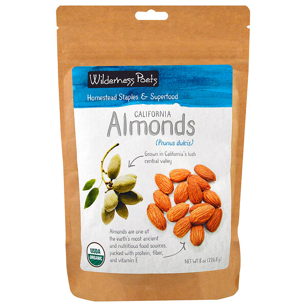California Almonds, 8 oz (226.8 g)