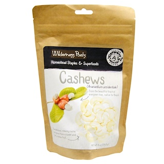 Wilderness Poets, Cashews, 8 oz (226.8 g)