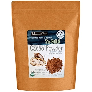 Wilderness Poets, Arriba Nacional, Cacao Powder, 32 oz (907.2 g)
