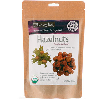 Wilderness Poets, Hazelnuts, 8 oz (226.8 g)