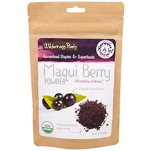 Вилдернес Поэтс, Living Raw Foods, Maqui Berry Powder, 3.5 oz (99 g) отзывы