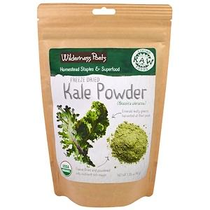 Вилдернес Поэтс, Living Raw Foods, Freeze Dried Kale Powder, 3.25 oz (92 g) отзывы покупателей