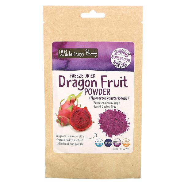 مسحوق فاكهة التنين المجفف بالتجميد، 3.5 أونصة (99 جم)