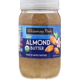 Wilderness Poets, Raw Almond Butter, 16 oz (454 g)