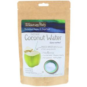 Вилдернес Поэтс, Instant Coconut Water Powder, Freeze Dried, 4 oz (113.4 g) отзывы покупателей