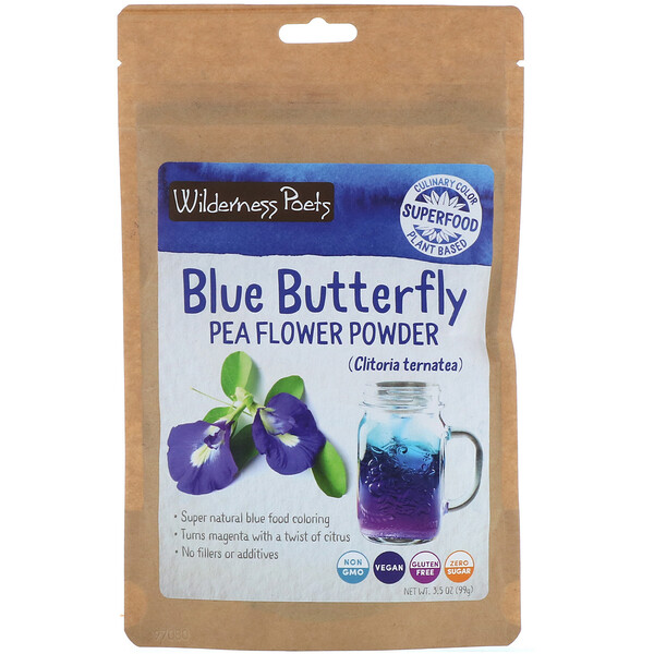 Blue Butterfly Pea Flower Powder, 3.5 oz (99 g)