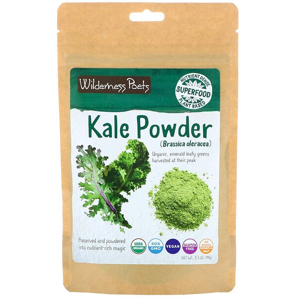 Wilderness Poets, Kale Powder, 3.5 oz (99 g)