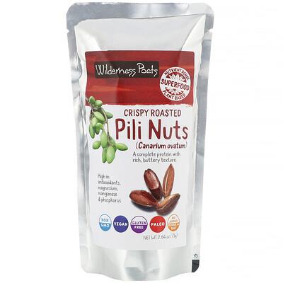 Купить Wilderness Poets Хрустящие жареные орехи пили, 75г (2, 64унции)
