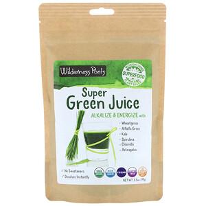 Wilderness Poets, Super Green Juice Powder, 3.5 oz (99 g)