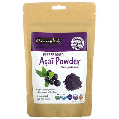 Купить Wilderness Poets Freeze Dried Acai Powder, 3.5 oz (99 g)