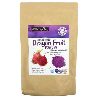 Купить Wilderness Poets Freeze Dried Dragon Fruit Powder, 12 oz (340 g)