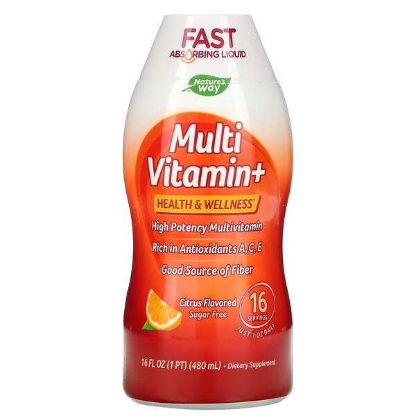 Multi Vitamin+, Citrus , 16 fl oz (480 ml)